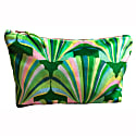 Luxury Green Velvet Cosmetic Bag image