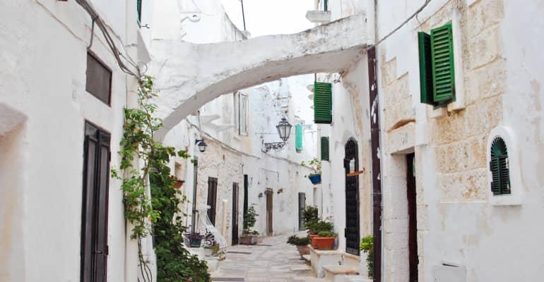 Street of Ostuni