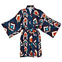 Kimono Wrap Dress Massami In Moroccan Print image