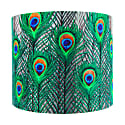 Peacock Feathers Lampshade - Medium image
