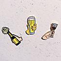 Enamel Pin Cheers! image