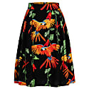 Hanna Skirt Parrots Black image