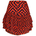 Gracie Tiered Pleated Mini Skirt image