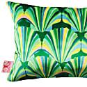 Green Shell Deco Velvet Cushion image