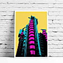 The Lloyd's Building A3 Print image