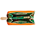 Orange Vegan Leather Small Purse image