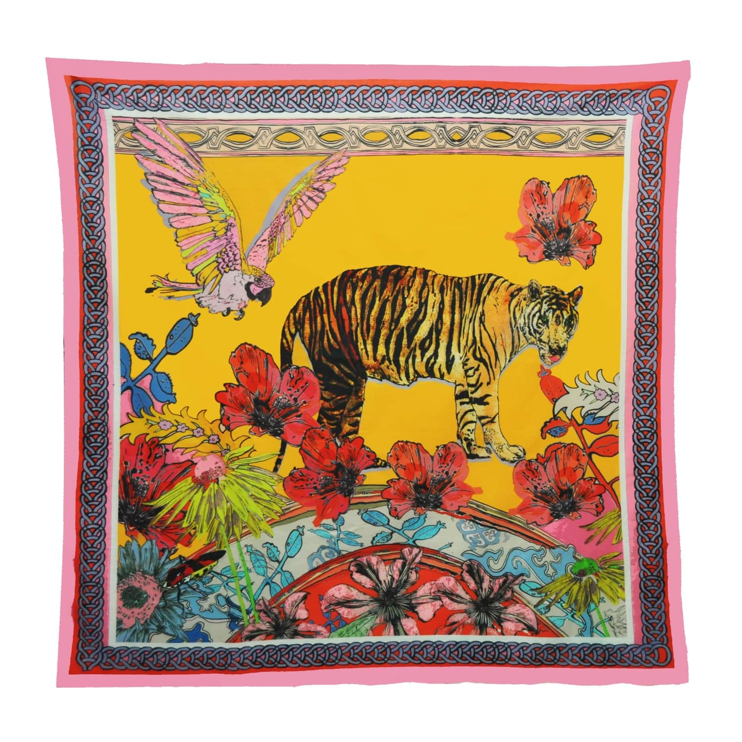Tiger Tales Giant Cotton Beach Sarong