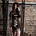 Gold Shimmy Dress image