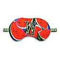 W For Watermelon - Silk Eye Mask image