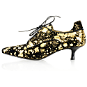 Moonlight Effect Kitten Heel Gold image