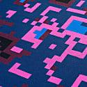 Digital Sunset Merino Wool & Silk Knitted Throw image