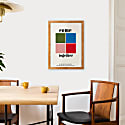Come Together Beatles Inspired Retro A3 Art Print image