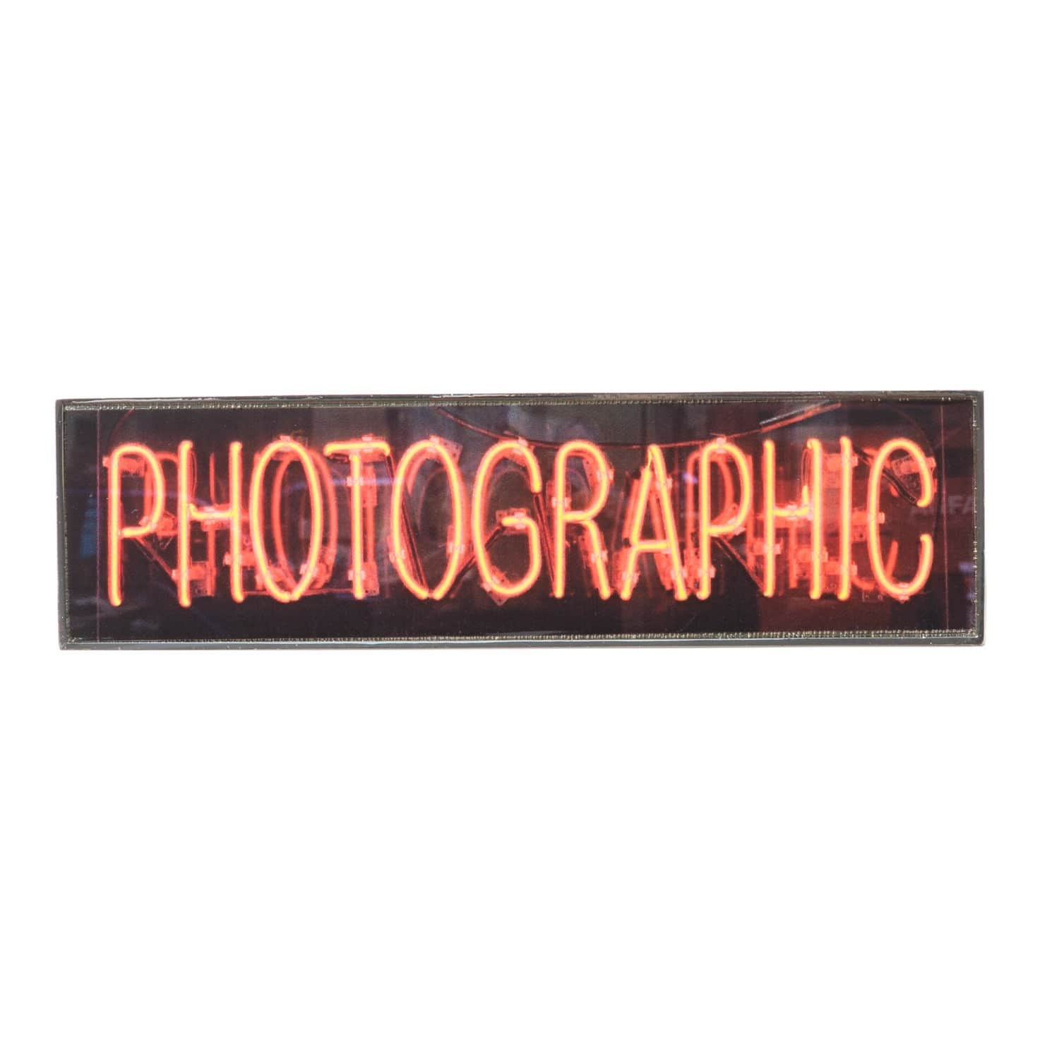 Photographic Badge by Plinth
