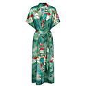 Jade Lily Silk Kimono image