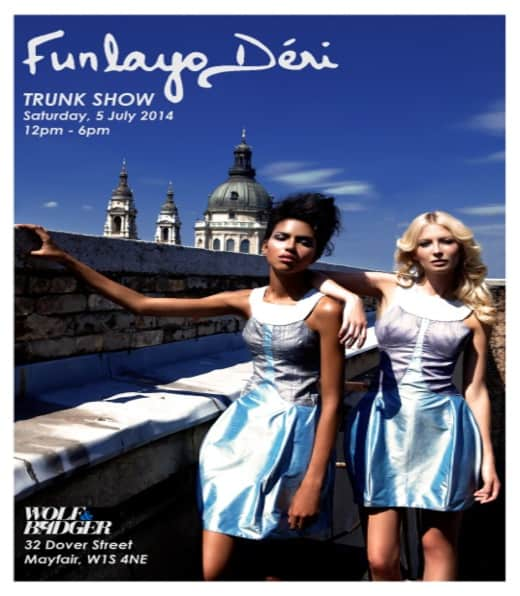 Funlayo Deri Trunk Show invitation