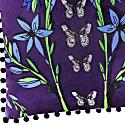 Velvet Cushion Cover - Folk Butterfly image