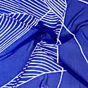 Azurite Blue Silk Scarf image