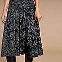 Martha Midi Dress In Polka image