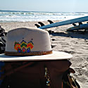 Cosala Brown Suede Hat image