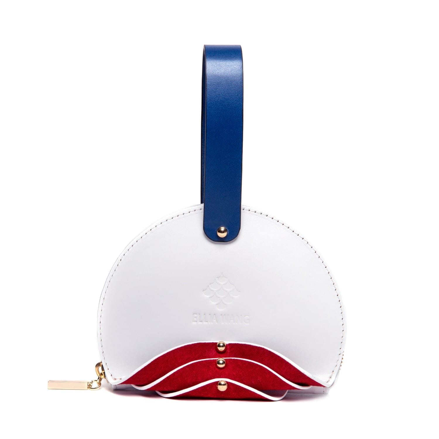 Shell Wristlet in White