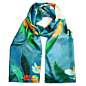 Lemon Tree Silk Twill Long Scarf image