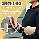 2 Litre Insulated Nougat Epic Bottle Thermal Canteen Stainless Steel image