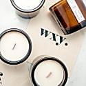 Big Amber Candle Black Ash & Frankincense image