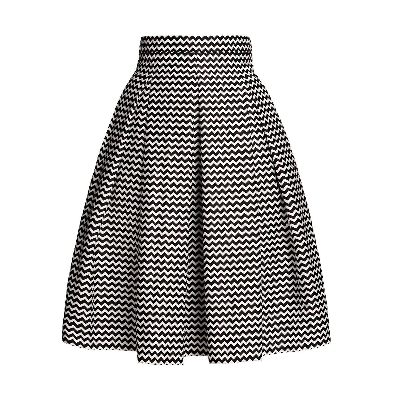 9e14d9b48f Ravello Chevron Midi Skirt