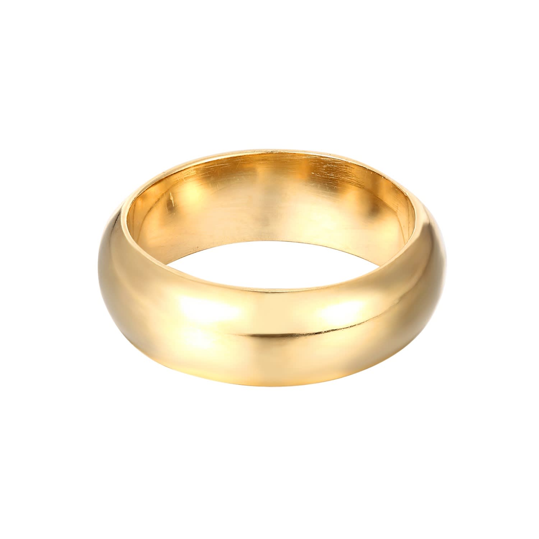 Dainty Cigar Ring Cigar Band Ring 925 Cigar Plain Cigar Band Ring Thick Cigar Band Wedding Band Cigar Ring Gold Plated Cigar Band Ring