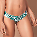 Naked Intimates Fern Leaf Scallop Seamless Thong image