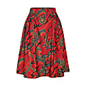 Hanna Skirt Dragons Red image