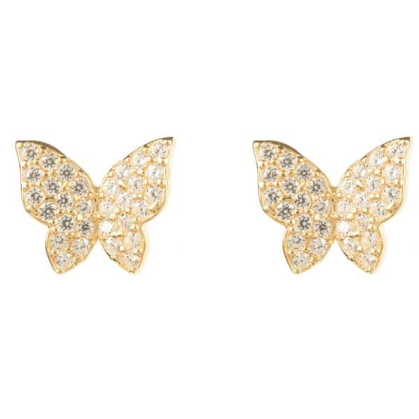Butterfly Earring Gold