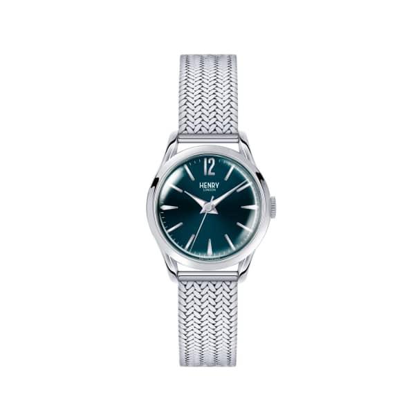 HENRY LONDON Ladies 25mm Knightsbridge Stainless Steel Bracelet Watch