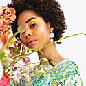 Kin Earrings In Violet Agate image