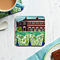 Set Of Four Peacocks At The Palace Coasters image