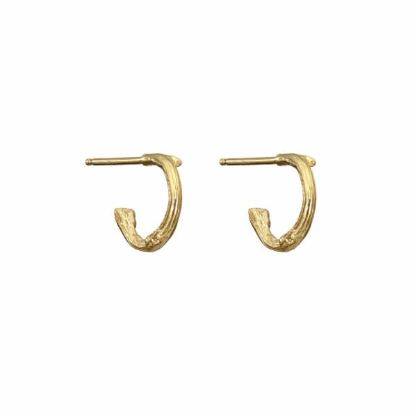 CHUPI Love Is All You Need Tiny Earrings In Gold