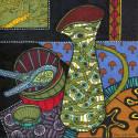 Pattern Jug & Bowl Print image