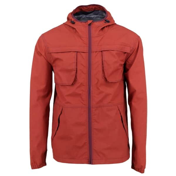 LORDS OF HARLECH Climb Tech Jacket In Rust
