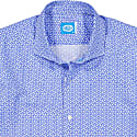 Sagres Printed Shirt in Blue image