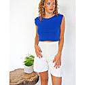 Sustainable White Shorts image