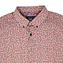 Morris Tri Mini Geo Cinnamon Shirt image
