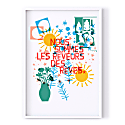 We Are The Dreamers Of Dreams Print image