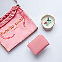 Hummingbird Ring Plate & Blush Pink Small Purse Gift Set image