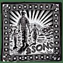 &Sons Woodcut Bandana Black image
