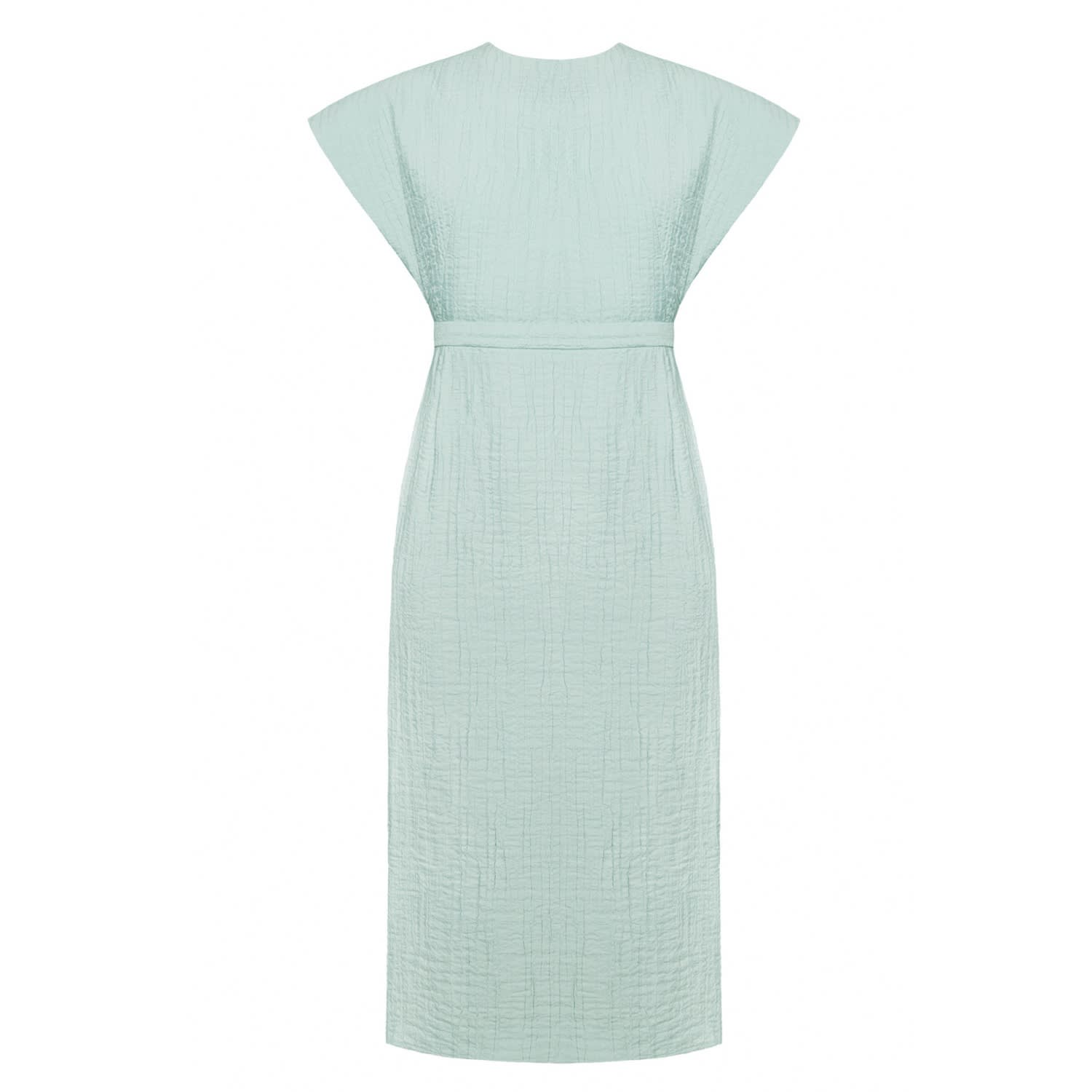 Maudlin Mint Open Back Wedding Guest Occasion Midi Dress | Undress ...
