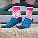 Mint Beehive & Bubble-Gum Katherine Women'S Socks 2 Pack image