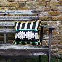 Green Bunny Silk & Velvet Cushion image