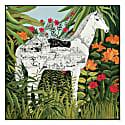 Horse 55cm Square Scarf image