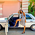 Gillette Midi Skirt- Print image