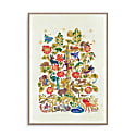Tree Of Life Illustration Wall Art Print image